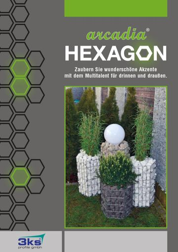 3ks Hexagon Designkörbe Katalog (Deutsch)